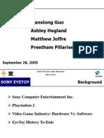 Sony EyeToy SCEE