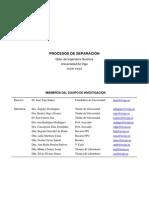 Procesos de Separación_Universidad de Vigo