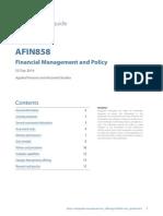 Unit Guide AFIN858 2014 S2 Day