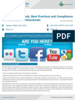 Social Media Trends, Best Practices and Compliance for Healthcare Professionals
