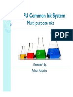NC-PU Common Inks System