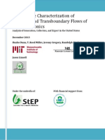 MIT-NCER US Used Electronics Flows Report - December 2013