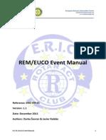 ERIC Event Manual 1.1