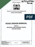 Kenya Road Design Manual, Part III - Materials & Pavement (1987)[1]