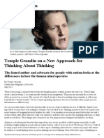 Temple Grandin on a New Approach for Thinking About Thinking