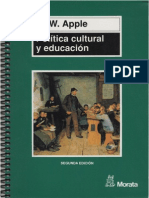 Apple, Michael. Politica Cultural y Educación.pdf