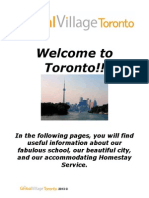 GV Toronto Prearrival Package 2013