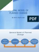 General Model of Planned Change