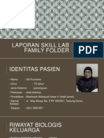 Laporan Skill Lab Family Folder