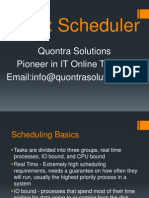 Linux Scheduling Presented by Quontrasolutions