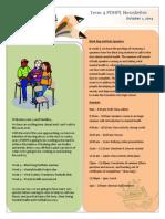 class newsletter 1