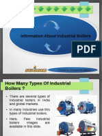 Know about industrial boiler in India