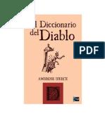 Bierce Ambrose - Diccionario Del Diablo.rtf