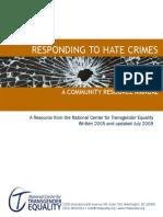 NCTE Hate Crimes Manual