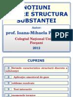 Noțiuni Despre Structura Substanței