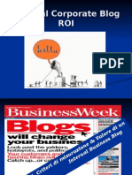 Internal Corporate Blog ROI