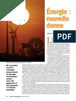 Energie Nouvelle Donne - Ball | Finance et Développement Sept 2014 FMI