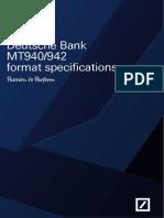 Format MT940