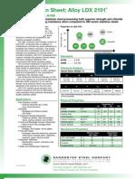 LDX2101 Spec Sheet