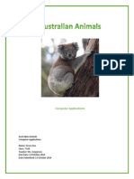 gee grace australian animals