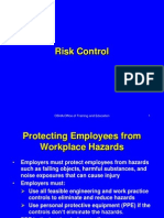 Risk Control and PPE