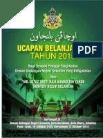 Ucapan Belanjawan Kelantan Bagi Tahun 2015