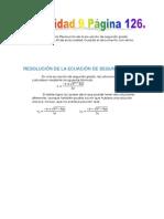 Resolución de la ecuación de segundo grado (Actividad 9 Página 126).pdf