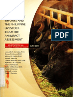 Buffalo Meat Imports and the Philippine Livestock Industry-An Impact Assessment