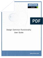 Design Common Functionality User Guide