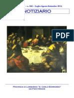 Notiziario 246 - Frati Minori di Lombardia
