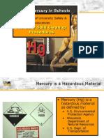 Mercury Cleanup, lab mercury