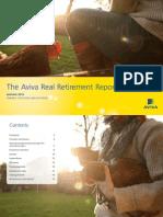 Aviva Real Retirement Report Autumn 14