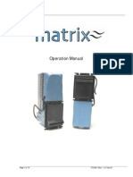 MATRIX Operations Manual VTIOM-1