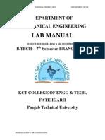 Rac 7th Sem Manual