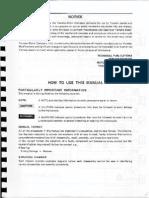 XJ750X XJ700X Service Manual