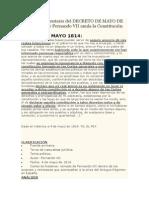 Análisis y comentario del DECRETO DE MAYO DE 1814 por el que Fernando VII anula la Constitución de 1812.docx