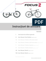 Manual Instructiuni Bicicleta
