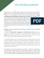 Disertacion Historia Filosofia Platon, Aristóteles,Etc