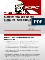 Kentucky Fried Chicken and Global Fast Food Industry