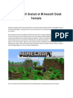 Minecraft Gratuit Crack