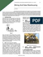 Aspect of Data Mining and Data Warehousing