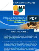 Iso Certificate in Dubai-Integrated Management System IMS - Implementation Methodology