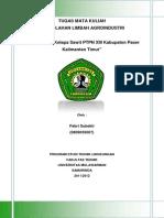 Cover tugas pengolahan limbah agro
