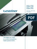 DSm735 DSm745 Brochure