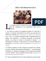Economía y Sociedad Incaica