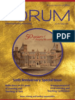 50th Anniversary Special, UoY Forum, Issue 33