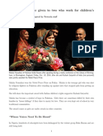 malala peace prize article