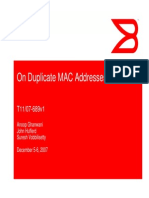 On Duplicate MAC Addresses