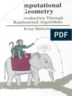 Ketan Mulmuley-Computational Geometry_ an Introduction Through Randomized Algorithms-Prentice Hall (1993)