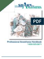 Anesthesia Handbook